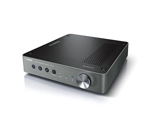 Yamaha MusicCast WXC-50 Vorverstärker dunkel silber - Kompakter HiFi-PreAmplifier - für simples & flexibles Musik streamen - Kompatibel mit Amazon Alexa Sprachsteuerung