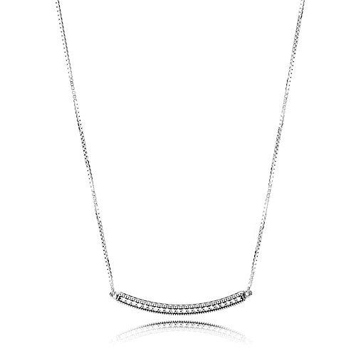 Pandora collana con ciondolo donna argento - 397420cz-50