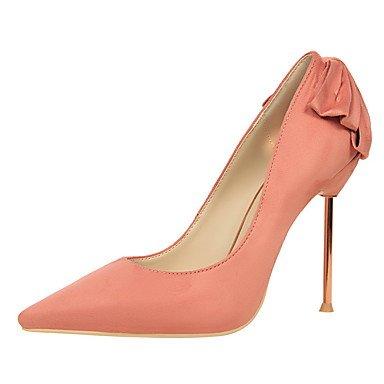 Moda Donna Sandali Sexy donna tacchi primavera / estate / autunno casual Comfort Stiletto Heel Bowknot Pink