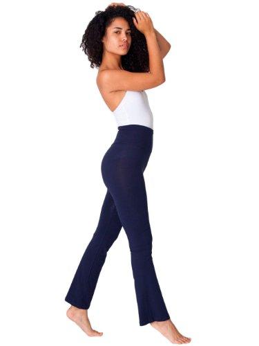 American Apparel Women's Cotton Spandex Jersey Yoga Pant (Apparel Yoga-american)