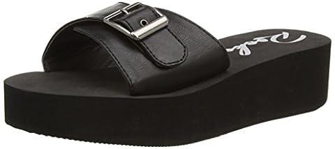 Rocket Dog Kaplan, Women's Wedge Sandals, Black (Black), 6 UK (39 EU)