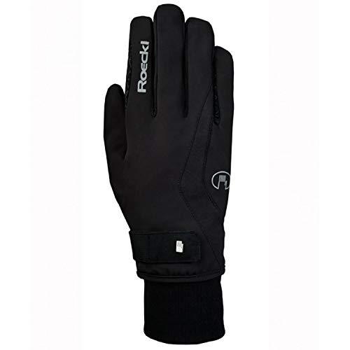 Roeckl Sports Winter Handschuh Wellington GTX Unisex Reithandschuh, Schwarz, 6,5