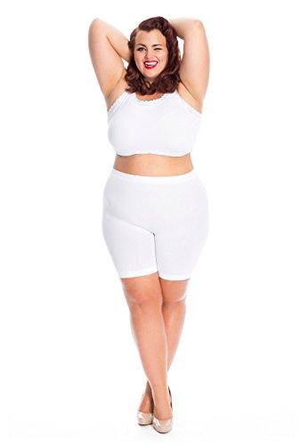 All woman Culotte Jambes Longues Anti-Friction Grande Taille prévient l'irritation de l'entre-Jambe causée par Le frottement des Cuisses