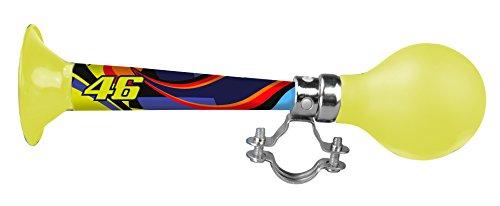Preisvergleich Produktbild kiddimoto 2horn46 - Design Horn/Hupe für Fahrrad und Scooter Valentino Rossi