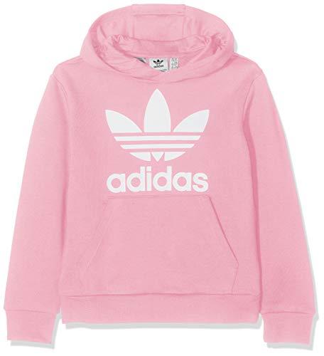 adidas Kinder Trefoil Hoodie, Light Pink/White, 140 -