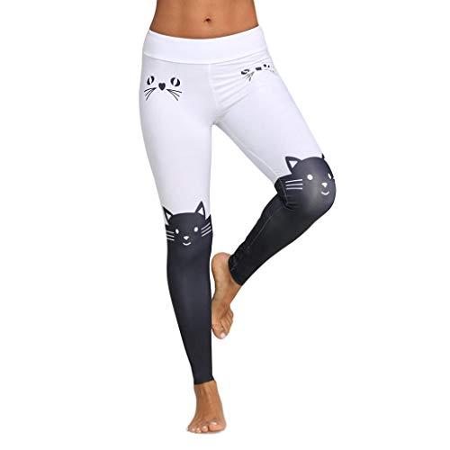 caracteristicas: 1.Está hecho de materiales de alta calidad, lo suficientemente duraderos para su gimnasio 2.El diseño impreso en gato le permite hacer ejercicio más conveniente 3. pantalones de yoga digno, subir Información del Producto: Temporada: ...