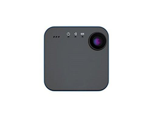 Ion snapcam videocamera hd indossabile con wi-fi e bluetooth, grigio