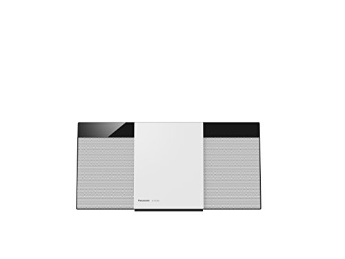 Panasonic SC-HC304EG-W Design-Stereoanlage mit Digitalradio DAB+ (Bluetooth, UKW, Radio, CD, Micro-Anlage mit 20 Watt RMS) weiß (Panasonic Mini-lautsprecher)