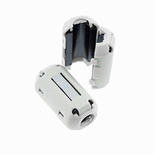 2 x Schwaiger Mantelstromfilter Entstörfilter Ferritfilter Ferritkern 6,5-7,5 mm