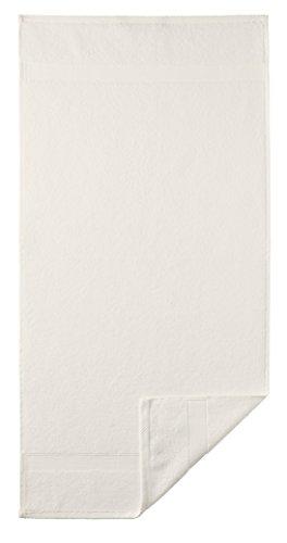 Preisvergleich Produktbild kuschel Handtuch - Frotteeserie Diamant in 22 Farben und 5 Größen, Farbe: 155 ivory - cremeweiß, Größe: Duschtuch 70x140cm