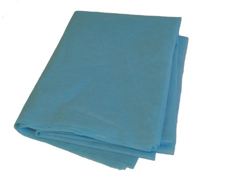 Primacare Keilrahmen Spannbetttuch Gewebe blau (50Pro Fall)