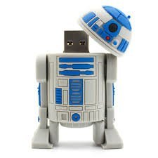 64 GB Star Wars R2D2 Mini Electronics USB Flash Drive 2.0 Memory Stick