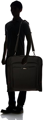 Samsonite Pro-Dlx 4 Garment Sleeve Portatrajes, 54 cm, Color Negro