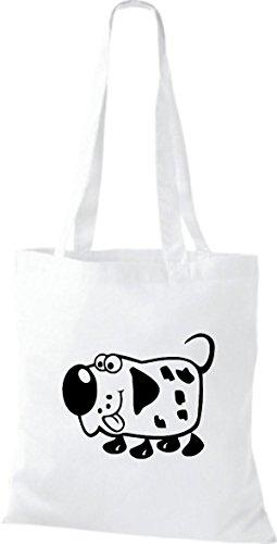 Camicie Animali Di Stoffa Animali Cane Cane Bianco