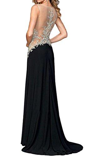 ivyd ressing robe & tuell populaire Motif dentelle mommé Prom Party robe robe du soir Schwarz