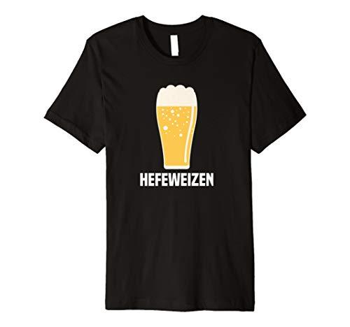 Hefeweizen Deutsche Weizen Bier Pint Glas Graphic Tee (Brewer Shirts)