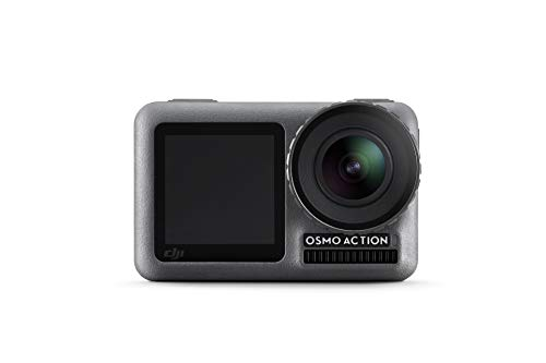 DJI Osmo Action CAM Cámara de acción con Dos Pantallas Sumergible hasta 11m 4K HDR-Video 12MP 145° Angular Negro (OSMO Action)