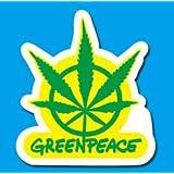 Para este tipo de pegatinas de m?sica Greeenpeace sello de papel resistente al agua Greenpeace - instrumentos musicales de Tablet PC (jap?n importaci?n)
