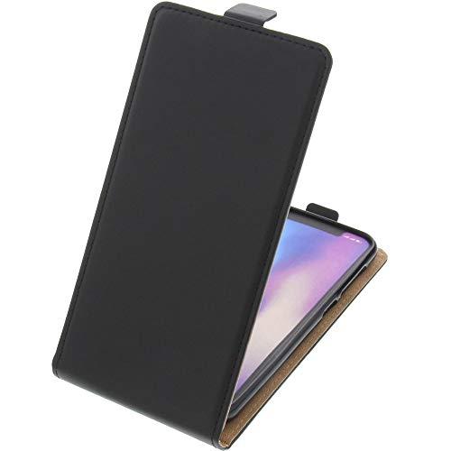 foto-kontor Tasche für Leagoo S9 Smartphone Flipstyle Schutz Hülle schwarz