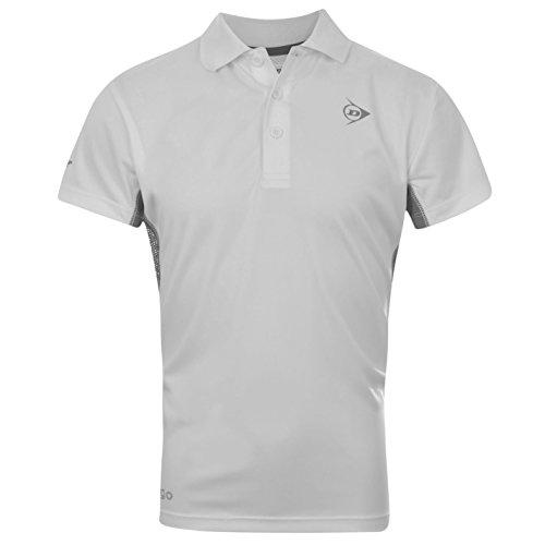Dunlop Kids el estándar de rendimiento de Polo de manga corta niño en la parte superior y de tenis de manga corta T-Shirt