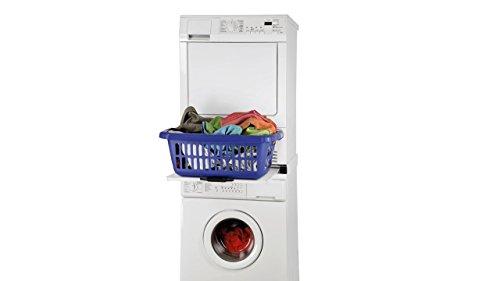 Zwischenbaurahmen Waschsäule für Waschmaschine und Trockner / mit Auszug + Aktion Sicherungs-Zurrgurt mit Klemmschloss für Wäschetrockner, Länge: 6 m FÜR IHRE SICHERHEIT - 4