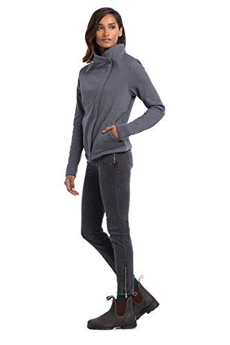 Synergy Organic Clothing Mercer Jacke anthrazit