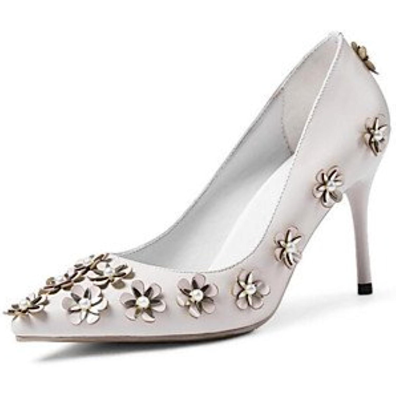 LvYuan-ggx Polyuréthane Femme Chaussures à Talons Confort Polyuréthane LvYuan-ggx Printemps Décontracté Blanc Rouge Plat - B074CXSKZB - 5a57ae