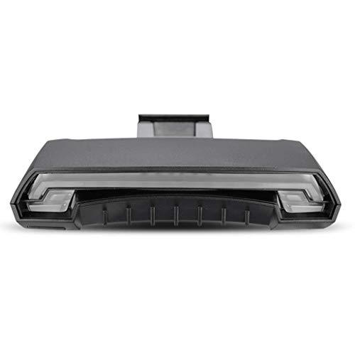 Accessoires intelligents de témoin lumineux de clignotant de feu arrière de clignotant de la lumière laser de contrôle à télécommande intelligent R1, feu arrière très lumineux ( Color : Black )