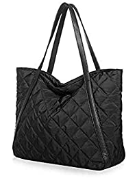 1ee49566e4 Bloomerang Women Tote Bag Space Cotton Handbags Down Feather Padded  Shoulder Bags Large Ca