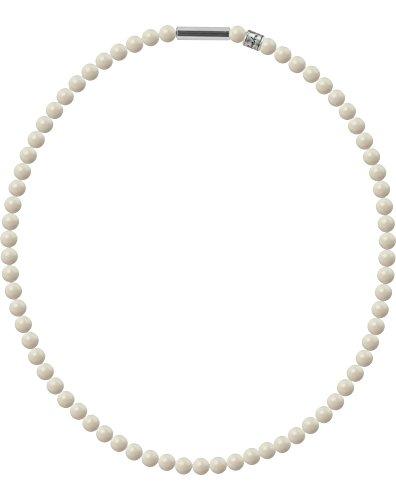 Perlenkette Mini mit original Swarovski ® Perlen, Kettenlänge:45cm, Farbe:Ivory Pearl
