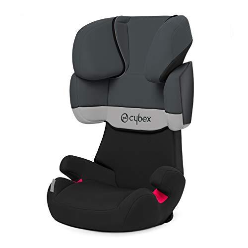 Cybex 514116011 silver solution x seggiolino auto per bambini, gruppo 2/3 (15-36 kg), grigio (gray rabbit/dark grey)