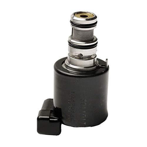 HermosaUKnight Zylinderkopf-Magnetventil für BMW 1er-Reihe 3 5 6 7 N40 N42 N45 N46 N62 73-Schwarz-Silber