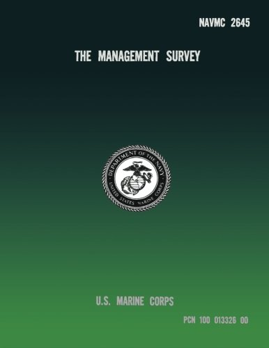 The Management Survey por U.S. Marine Corps