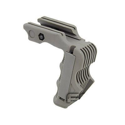 AIRSOFT RAIL MOUNTED VERTICAL GRIP FOR MAGWELL PRESSURE PAD READY FG GREEN