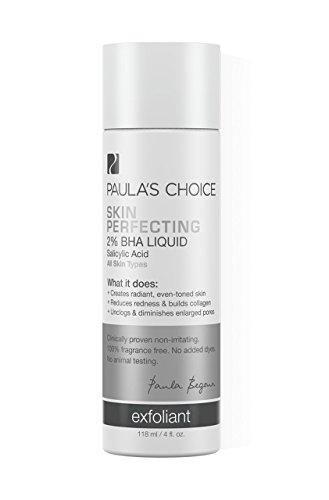 Skin Perfecting 2% BHA Liquid Peeling | Flüssiges Peeling | Stark gegen Mitesser | Sanftes Entschuppen gegen Pickel, Rötungen und Mitesser | Für Mischhaut & fettige Hauttypen | 118 ml / 4 fl. oz. | von Paula's Choice