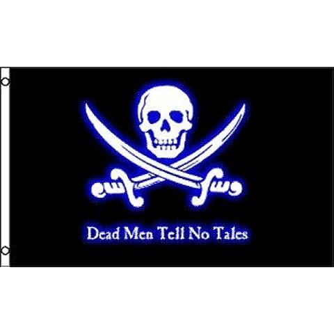 Dead Men Tell No Tales Bandiera 0,9x 1,5m Poly