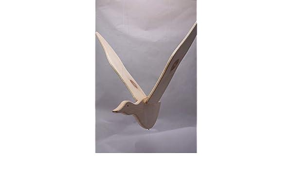 Oiseau bois naturel Les Jouets du Queyras Mobile en bois pour lit b/éb/é