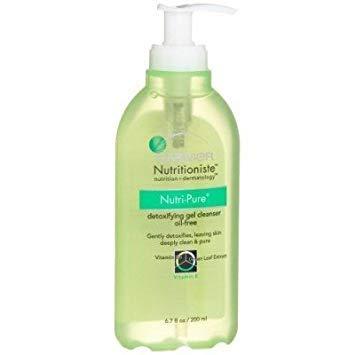 Garnier Nutritioniste Nutri-Pure Detoxifing Gel Cleanser Oil (190GM)