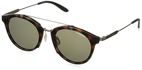 carrera-mens-ca126s-round-sunglasses-havana-gold-brown-49-mm