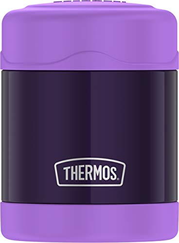 Stainless Steel Food Jar (Thermos FUNtainer™ Stainless Steel, Vacuum Insulated Food Jar - Purple - 10 oz.)