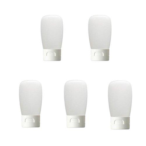 30g Bouteille de pressage rechargeable Nettoyant Conteneur Bouteilles de cosmétiques pour le voyage