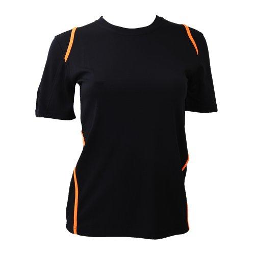 Gamegear® - Maglietta Maniche Corte - Donna Bianco/Grigio
