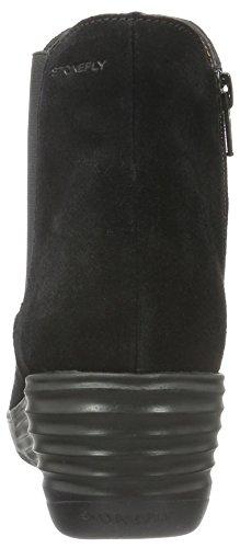 Stonefly Damen Ebony 20 Kurzschaft Stiefel Schwarz (Nero-Black 000)