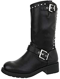 8f6f3026aa7399 Suchergebnis auf Amazon.de für  bikerstiefel damen  Schuhe   Handtaschen