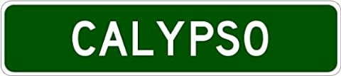 CALYPSO, NORTH CAROLINA City Street Sign - Heavy Duty - 4