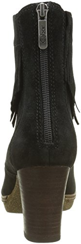Gabor Shoes Comfort Sport, Stivali da Cowboy Donna Nero (SchwarzA.C/micro)