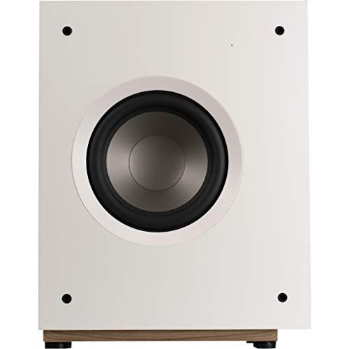 'Jamo S 808Sub W 50W White-Tieftöner (50W, 39-180Hz, 100W, 108dB, 20.3cm, 20.3cm (8)) (808 Subwoofer)