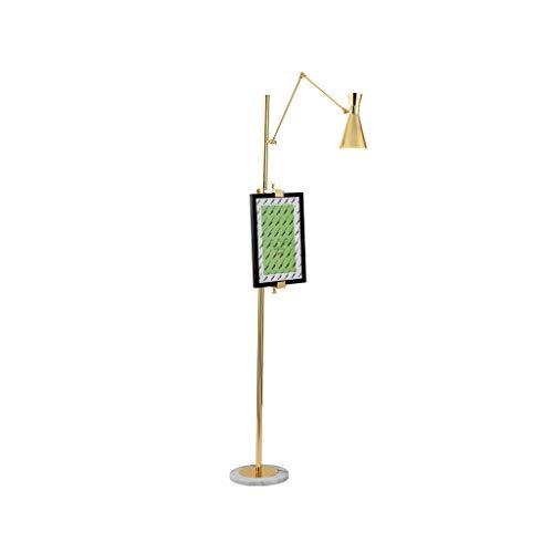 FORWIN Stehleuchte- Postmoderne Stehleuchte Wohnzimmer Schlafzimmer Nachttischlampe Einfache Art Dekoration Nordic Stehleuchte Innenbeleuchtung (größe : Warmes Licht)