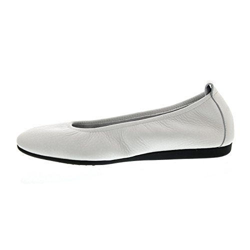 Arche Laius, Rocky (Glattleder), Blanc (weiss) Ballerina Blanc (Weiß)