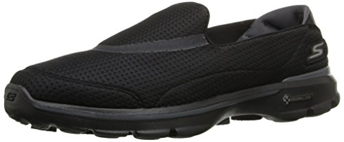 Skechers Women's GOwalk 3-Unfold Low Top Sneakers - Black (Black), 5 UK (38 EU)